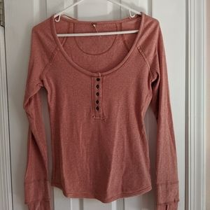 Free People Sugar Spice Henley